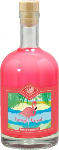 Flamingo Royal - Erdbeer Sahnelikör